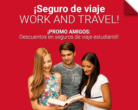 Seguro de viaje work and travel