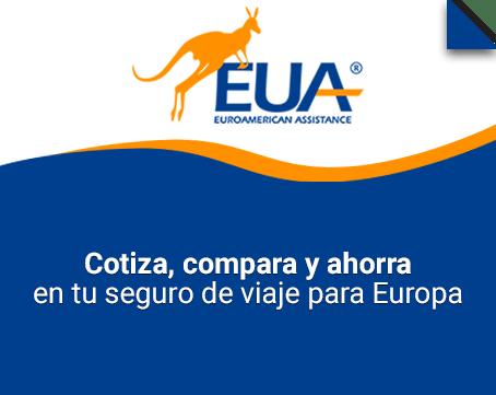 Seguro de viaje para Europa Euroamerican Assistance