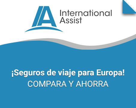 Seguro de viaje para Europa International Assist