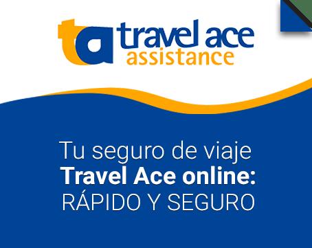 Tu seguro de viaje travel ace online