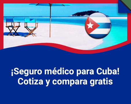 Seguro médico para Cuba